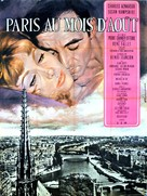 Paris au mois d'août - French Movie Poster (xs thumbnail)