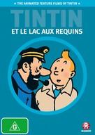 Tintin et le lac aux requins - Australian DVD cover (xs thumbnail)
