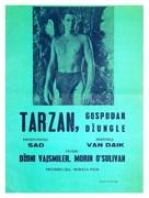 Tarzan the Ape Man - Czech Movie Poster (xs thumbnail)