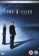 The X Files: I Want to Believe - British DVD cover (xs thumbnail)