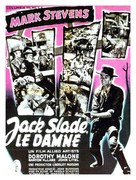 Jack Slade - French Movie Poster (xs thumbnail)