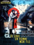 The Eddy Duchin Story - French Movie Poster (xs thumbnail)