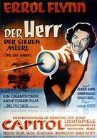 The Sea Hawk - German Movie Poster (xs thumbnail)