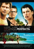 A Perfect Getaway - Spanish Movie Poster (xs thumbnail)