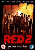 RED 2 - British DVD movie cover (xs thumbnail)