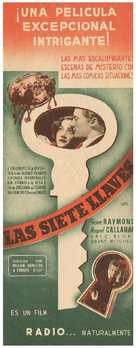 Seven Keys to Baldpate - Spanish Movie Poster (xs thumbnail)
