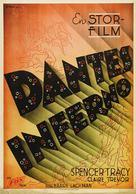 Dante's Inferno - Swedish Movie Poster (xs thumbnail)