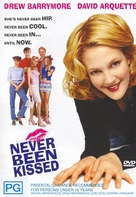 Never Been Kissed - Australian Movie Cover (xs thumbnail)