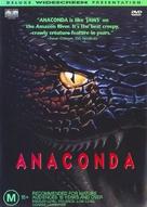 Anaconda - Australian DVD movie cover (xs thumbnail)
