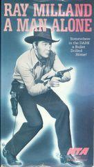 A Man Alone - VHS movie cover (xs thumbnail)