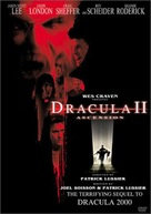 Dracula II: Ascension - DVD movie cover (xs thumbnail)