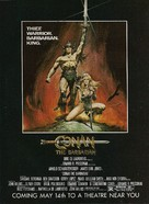 Conan The Barbarian - Advance movie poster (xs thumbnail)