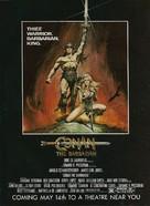 Conan The Barbarian - Advance poster (xs thumbnail)