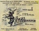 Ángel exterminador, El - Spanish poster (xs thumbnail)