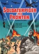 Blitzmädels an die Front - Danish Movie Poster (xs thumbnail)