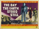 The Day the Earth Stood Still - British Movie Poster (xs thumbnail)