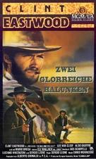 Il buono, il brutto, il cattivo - German VHS movie cover (xs thumbnail)