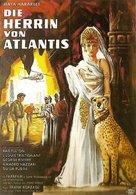 L'Atlantide - German Movie Poster (xs thumbnail)