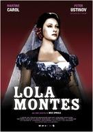 Lola Montès - Spanish Movie Poster (xs thumbnail)