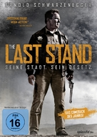 The Last Stand - German DVD movie cover (xs thumbnail)