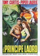 The Prince Who Was a Thief - Italian Movie Poster (xs thumbnail)