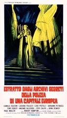 Estratto dagli archivi segreti della polizia di una capitale europea - Italian Movie Poster (xs thumbnail)