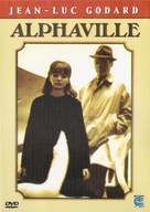Alphaville, une étrange aventure de Lemmy Caution - French DVD movie cover (xs thumbnail)