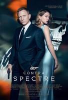 Spectre - Brazilian Movie Poster (xs thumbnail)