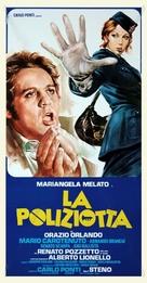 La poliziotta - Italian Movie Poster (xs thumbnail)