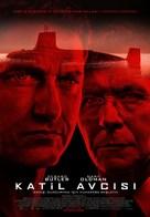 Hunter Killer - Turkish Movie Poster (xs thumbnail)