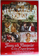 Fanny och Alexander - Swedish Movie Poster (xs thumbnail)