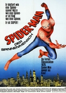 """The Amazing Spider-Man"" - German Movie Poster (xs thumbnail)"