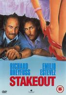 Stakeout - British DVD movie cover (xs thumbnail)