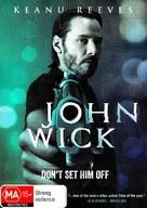 John Wick - Australian DVD movie cover (xs thumbnail)