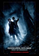 Sherlock Holmes: A Game of Shadows - Portuguese Movie Poster (xs thumbnail)