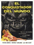 It Conquered the World - Mexican Movie Poster (xs thumbnail)