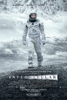 Interstellar - Theatrical movie poster (xs thumbnail)
