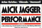 Performance - French Movie Poster (xs thumbnail)