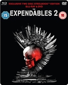 The Expendables 2 - British Blu-Ray movie cover (xs thumbnail)