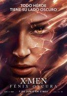 Dark Phoenix - Spanish Movie Poster (xs thumbnail)