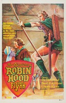 The Adventures of Robin Hood - Colombian Movie Poster (xs thumbnail)