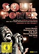 Soul Power - German Movie Cover (xs thumbnail)