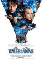 Valerian and the City of a Thousand Planets - Lithuanian Movie Poster (xs thumbnail)