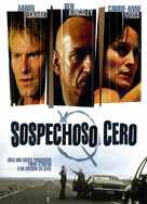 Suspect Zero - Spanish Movie Cover (xs thumbnail)