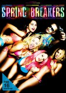 Spring Breakers - German DVD movie cover (xs thumbnail)