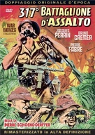 La 317eme section - Italian DVD movie cover (xs thumbnail)