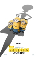 Minions - Spanish Movie Poster (xs thumbnail)