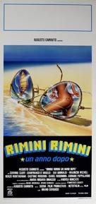 Rimini Rimini - Un anno dopo - Italian Movie Poster (xs thumbnail)