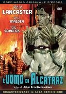 Birdman of Alcatraz - Italian DVD movie cover (xs thumbnail)
