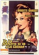 Babette s'en va-t-en guerre - Spanish Movie Poster (xs thumbnail)